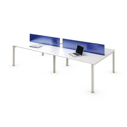 Zama Task Workstations | Table dividers | Forma 5