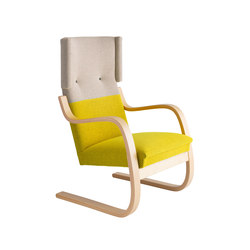 Armchair 401 Re-interpretation by Hella Jongerius | Poltrone | Artek