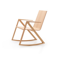 Félix Rocking Chair | Lounge chairs | PERUSE