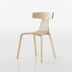 Remo Wood Chair 1415-10 | Sillas | Plank