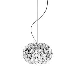 Caboche suspension small transparent | General lighting | Foscarini