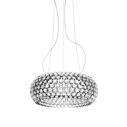 Caboche suspension big LED transparent | General lighting | Foscarini
