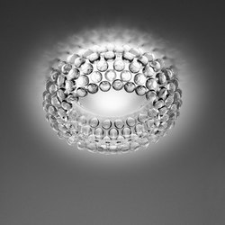 Caboche ceiling transparent | Ceiling lights | Foscarini