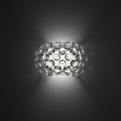 Caboche Wandleuchte klein transparent | General lighting | Foscarini
