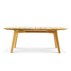 Knit rectangular dining table | Dining tables | Ethimo