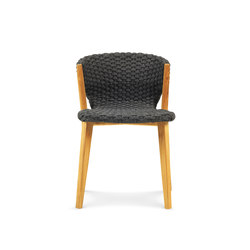 Knit dining chair | Sillas | Ethimo