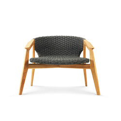 Knit lounge armchair | Garden armchairs | Ethimo