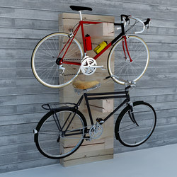 CRAFTWAND® - bike rack design | Hängegarderoben | Craftwand