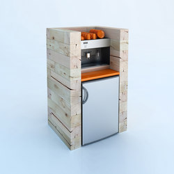 CRAFTWAND® - coffee corner design | Coffee / Water dispenser stations | Craftwand