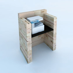 CRAFTWAND® - copy machine table design | Mehrzwecktische | Craftwand