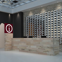 CRAFTWAND® - reception desk design | Empfangstische | Craftwand