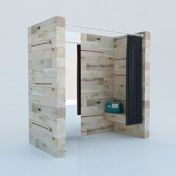 CRAFTWAND® - changing cabin design | Shopsysteme | Craftwand