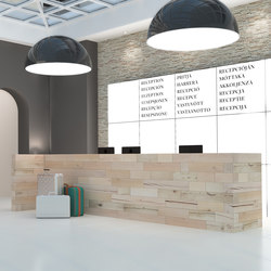 CRAFTWAND® - reception desk design | Mostradores de recepción | Craftwand