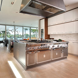 Miami steel island kitchen | Island kitchens | Officine Gullo