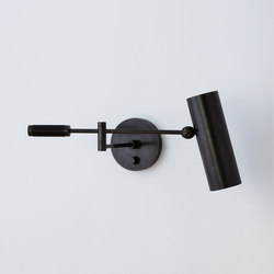 Cylinder Swing Arm Sconce | Wall-mounted spotlights | Apparatus