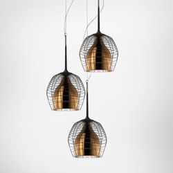 Cage suspension small multiple composition | General lighting | Diesel by Foscarini