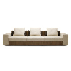 Sofa So Wood | 3-seater sofa | Sofás lounge | Mussi Italy