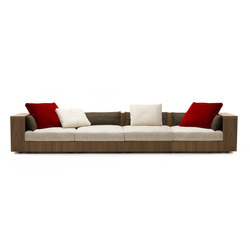 Sofa So Wood | 4-seater sofa | Sofás lounge | Mussi Italy