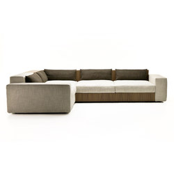 Sofa So Wood | Modular seating systems | Mussi Italy