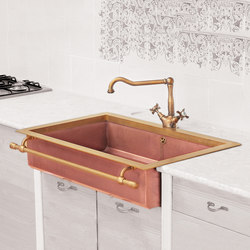 Semi-Recessed Sink | Fregaderos de cocina | Officine Gullo