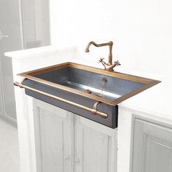 Semi-Recessed Sink | Küchenspülbecken | Officine Gullo