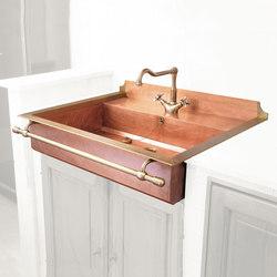 Semi-Recessed Sink | Fregaderos de cocina | Officine Gullo