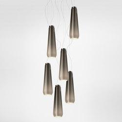 Glass Drop suspension multiple composition | Éclairage général | Diesel by Foscarini