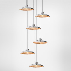 Mysterio suspension multiple composition | Éclairage général | Diesel by Foscarini