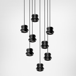 Tool suspension multiple composition | General lighting | Diesel by Foscarini