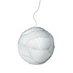 Planet suspension large white/white | General lighting | Foscarini