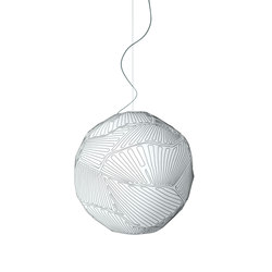 Planet suspension small white/white | General lighting | Foscarini