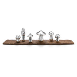 Wolfgang Joop – Magic Mushrooms | Salt & pepper shakers | Wiener Silber Manufactur