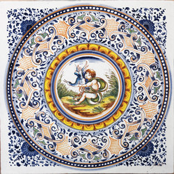 Decorated Tiles | Carrelage mural | Officine Gullo