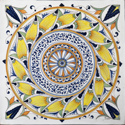 Decorated Tiles | Ceramic tiles | Officine Gullo