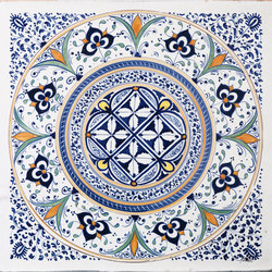 Decorated Tiles | Baldosas | Officine Gullo