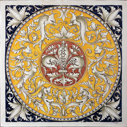 Decorated Tiles | Carrelage céramique | Officine Gullo