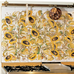 "Decorated Panel ""Girasoli"" 