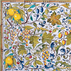 "Decorated Panel ""Natura"" 