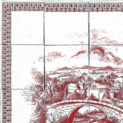 "Decorated Panel ""Incontro"" 