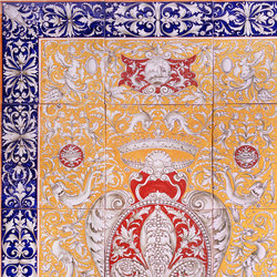 "Decorated Panel ""Arazzo Fiorentino"" 