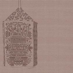 Petrantoni | Carta parati / tappezzeria | Inkiostro Bianco