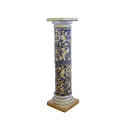 "Decorated Column ""Grottesche"" 