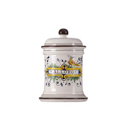 Decorated Majolica Jar | Boîtes de rangement | Officine Gullo