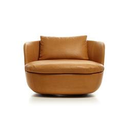 Bart Swivel Armchair | Sessel | moooi