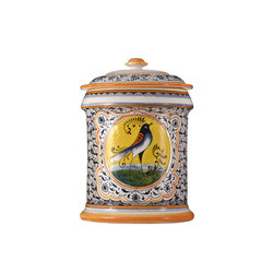 Decorated Majolica Jar | Contenedores / cajas | Officine Gullo