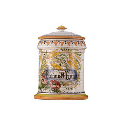 Decorated Majolica Jar | Behälter / Boxen | Officine Gullo