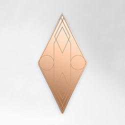 Mask rhombus | Specchi | Petite Friture
