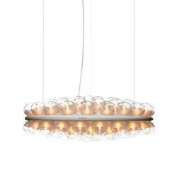 prop light round double | Suspended lights | moooi