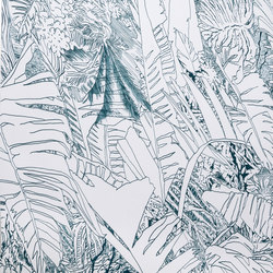 Jungle | Ink | Wall coverings / wallpapers | Petite Friture