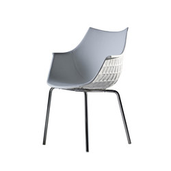 Meridiana easychair | Visitors chairs / Side chairs | Driade